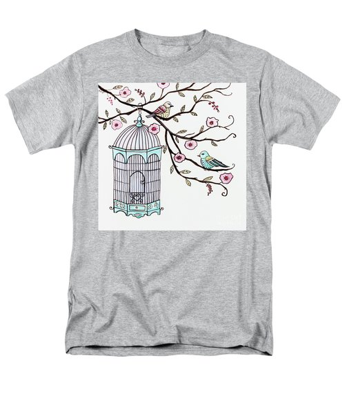 Fly Free Men's T-Shirt  (Regular Fit) by Elizabeth Robinette Tyndall