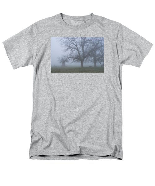 Men's T-Shirt  (Regular Fit) featuring the photograph Foggy Morning by Randy Bayne