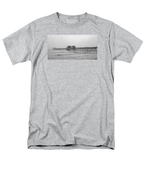 Foggy Pier Men's T-Shirt  (Regular Fit) by Sean Allen