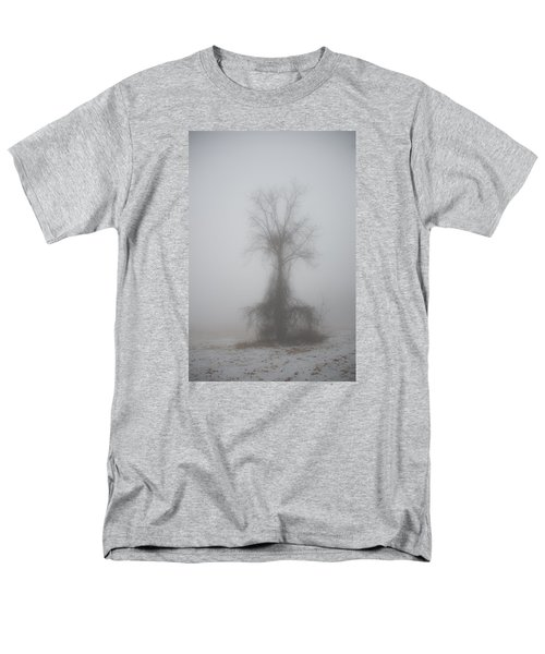 Foggy Walnut Men's T-Shirt  (Regular Fit) by Wanda Krack