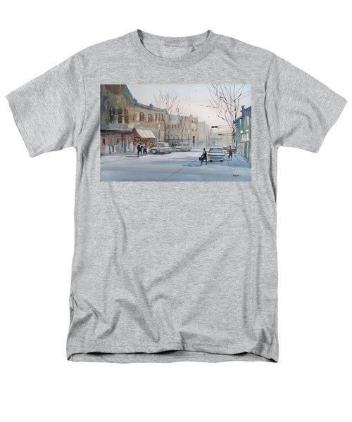 Fond Du Lac - Downtown Men's T-Shirt  (Regular Fit) by Ryan Radke