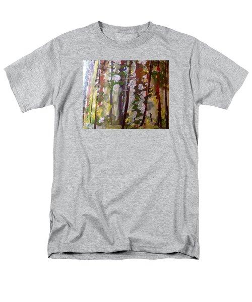 Forest Meeting Men's T-Shirt  (Regular Fit) by Judith Desrosiers