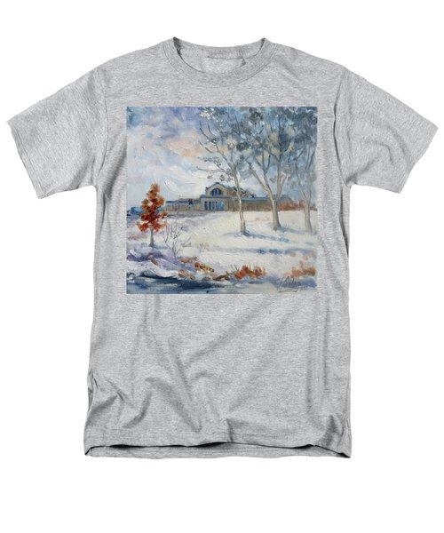Forest Park Winter Men's T-Shirt  (Regular Fit) by Irek Szelag