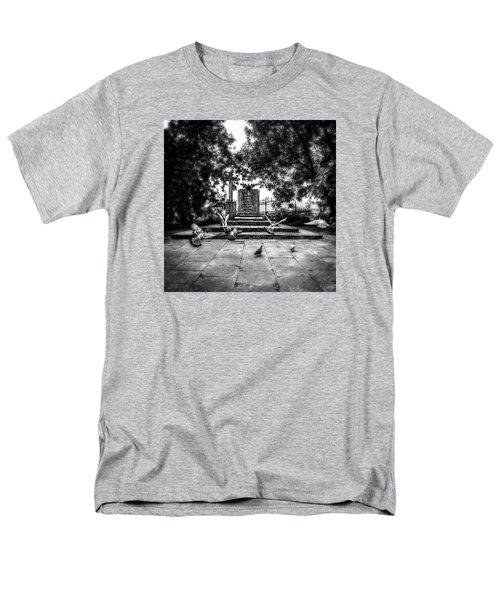 Forgotten Monument Men's T-Shirt  (Regular Fit) by Jaroslaw Grudzinski