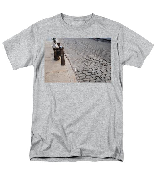 Men's T-Shirt  (Regular Fit) featuring the photograph Forgotten N Y by Rob Hans