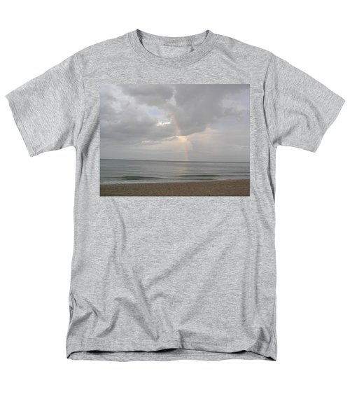 Fort Lauderdale Rainbow Men's T-Shirt  (Regular Fit) by Patricia Piffath