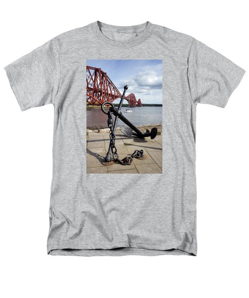 Men's T-Shirt  (Regular Fit) featuring the photograph Forth Bridge by Jeremy Lavender Photography