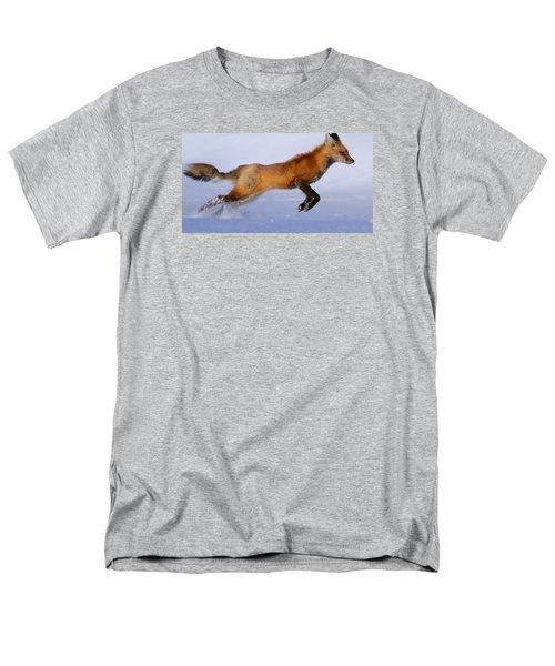 Fox On The Run Men's T-Shirt  (Regular Fit) by Paul Marto