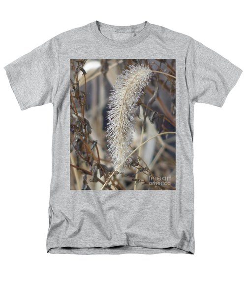 Men's T-Shirt  (Regular Fit) featuring the photograph Foxtail Fur by Christina Verdgeline