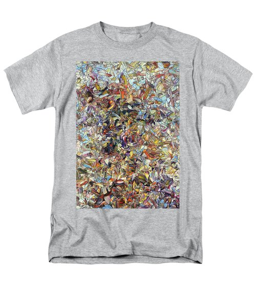 Men's T-Shirt  (Regular Fit) featuring the painting Fragmented Horse by James W Johnson
