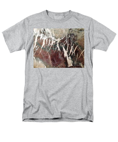 Men's T-Shirt  (Regular Fit) featuring the photograph French Marble by Therese Alcorn