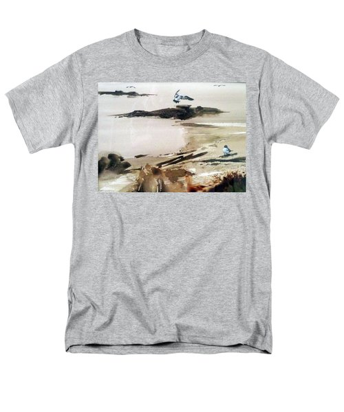 French Lake Men's T-Shirt  (Regular Fit) by Ed Heaton