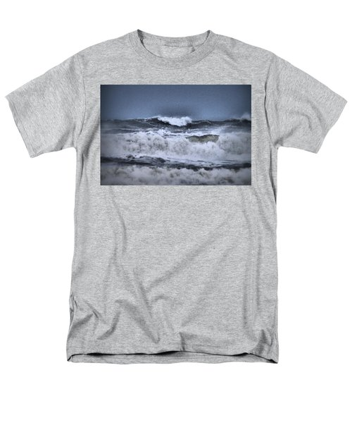 Men's T-Shirt  (Regular Fit) featuring the photograph Frolicsome Waves by Jeff Swan