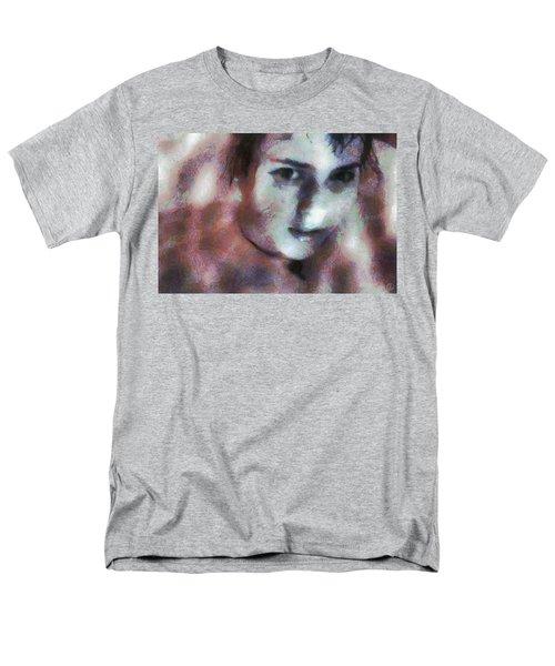 Men's T-Shirt  (Regular Fit) featuring the digital art Full Of Expectation by Gun Legler
