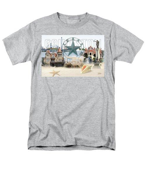 Galveston Texas Men's T-Shirt  (Regular Fit) by Doug Kreuger