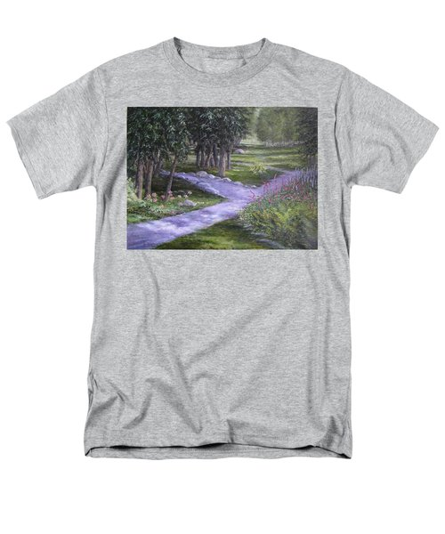 Garden Walk Men's T-Shirt  (Regular Fit)
