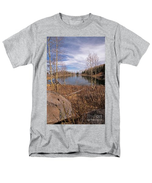 Gates Lake Ut Men's T-Shirt  (Regular Fit) by Cindy Murphy - NightVisions