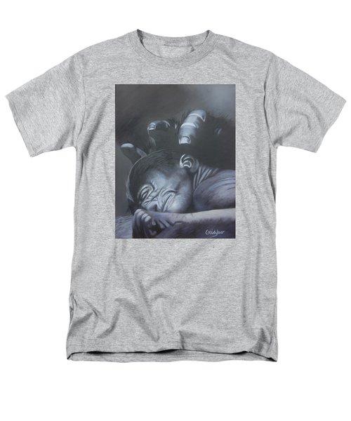 Gentle Caress Men's T-Shirt  (Regular Fit) by Jean Yves Crispo
