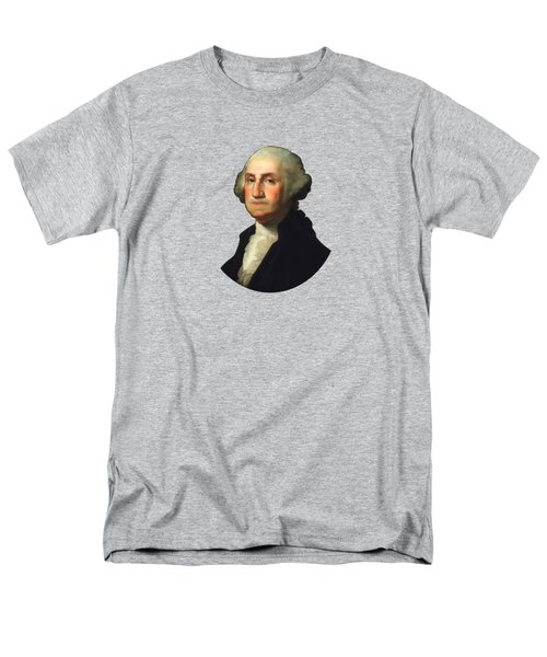 George Washington - Rembrandt Peale Men's T-Shirt  (Regular Fit) by War Is Hell Store