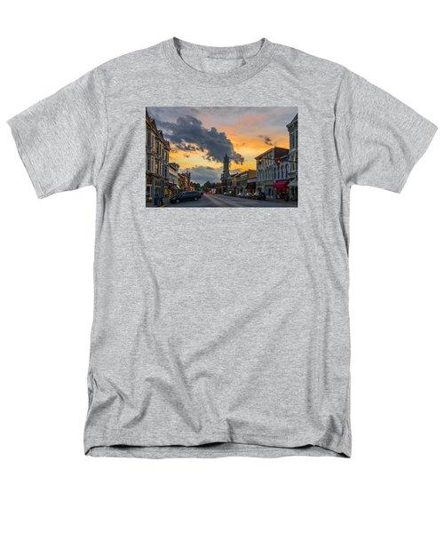 Georgetown Ky Summer Evening Men's T-Shirt  (Regular Fit) by Ulrich Burkhalter