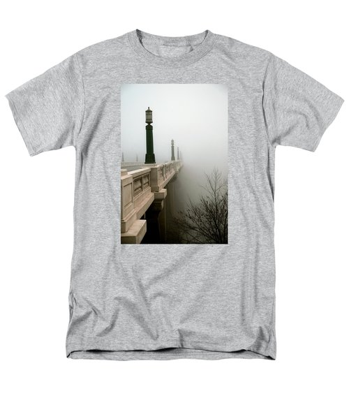 Gervais Street Bridge Men's T-Shirt  (Regular Fit) by Skip Willits