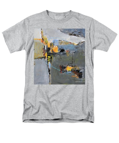 Men's T-Shirt  (Regular Fit) featuring the painting Getting There by Ron Stephens
