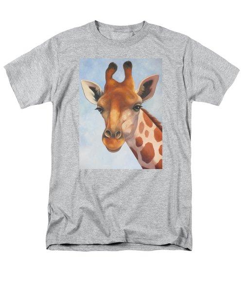 Giraffe Men's T-Shirt  (Regular Fit) by Vivien Rhyan