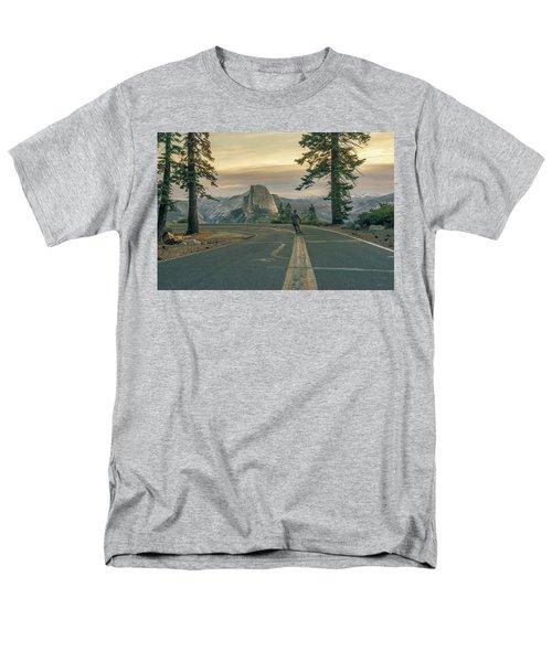 Glacier Point Adventure Men's T-Shirt  (Regular Fit) by Alpha Wanderlust