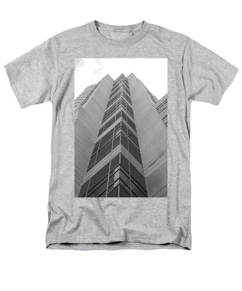 Men's T-Shirt  (Regular Fit) featuring the photograph Glass Tower by Rob Hans