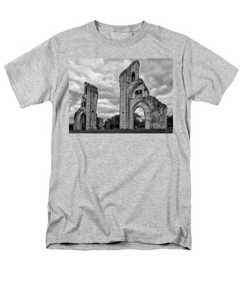 Men's T-Shirt  (Regular Fit) featuring the photograph Glastonbury Abbey by Elvira Butler
