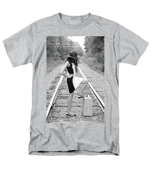 Men's T-Shirt  (Regular Fit) featuring the photograph Go Far by Barbara West