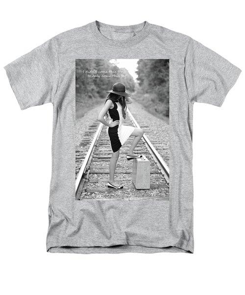 Go Far Men's T-Shirt  (Regular Fit)