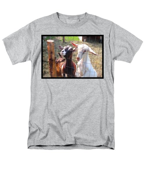 Men's T-Shirt  (Regular Fit) featuring the photograph Goats by Felipe Adan Lerma