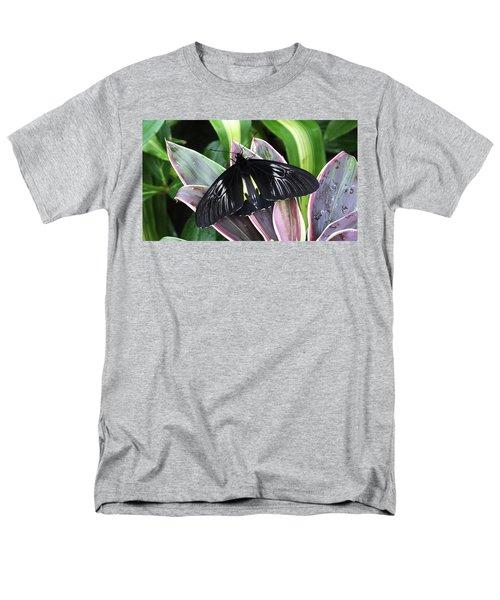 Golden Birdwing Men's T-Shirt  (Regular Fit) by Judy Wanamaker