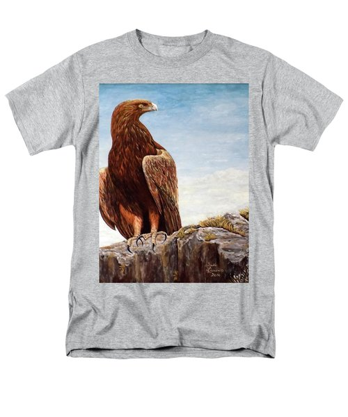 Golden Eagle Men's T-Shirt  (Regular Fit) by Judy Kirouac
