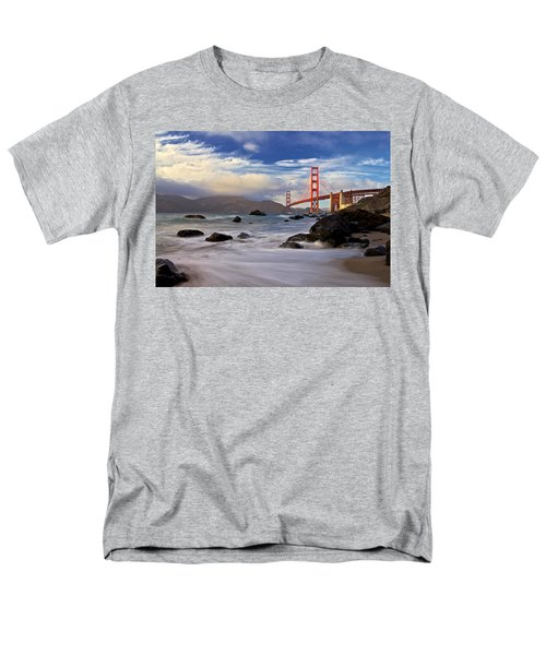 Men's T-Shirt  (Regular Fit) featuring the photograph Golden Gate Bridge by Evgeny Vasenev