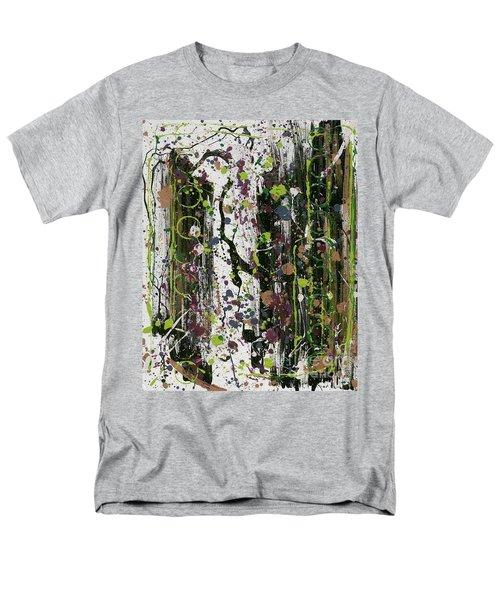 Golden Lime Royal Purple Dreams Men's T-Shirt  (Regular Fit) by Talisa Hartley