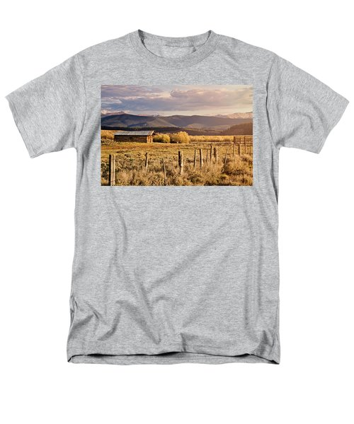 Golden Lonesome Men's T-Shirt  (Regular Fit) by Lana Trussell
