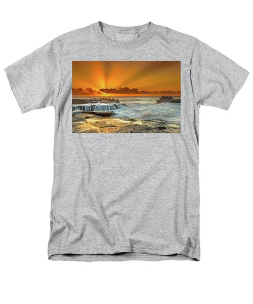 Golden Rays Men's T-Shirt  (Regular Fit) by James Roemmling