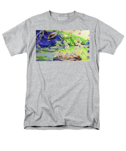 Golfbaelle In Huelle Und Fuelle   Golf Balls Galore Men's T-Shirt  (Regular Fit) by Koro Arandia
