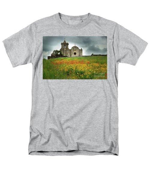 Goliad In Spring Men's T-Shirt  (Regular Fit) by Jon Holiday