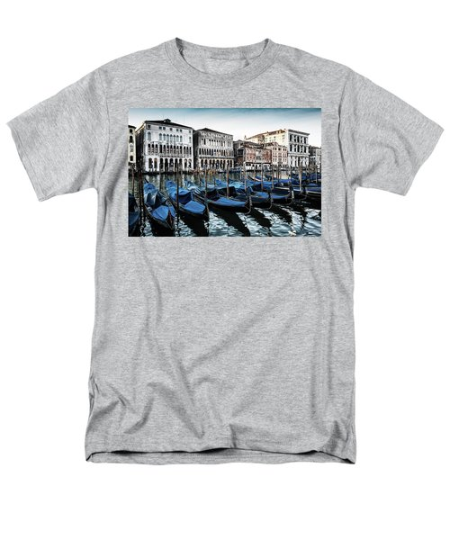 Gondolas Men's T-Shirt  (Regular Fit) by M G Whittingham