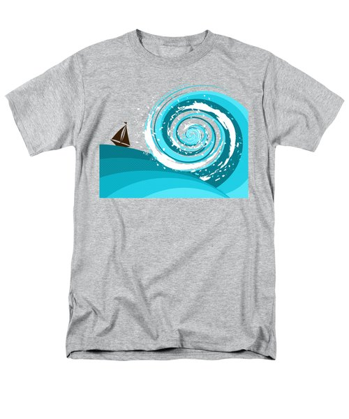 Gonna Need A Bigger Boat Men's T-Shirt  (Regular Fit) by Shawna Rowe