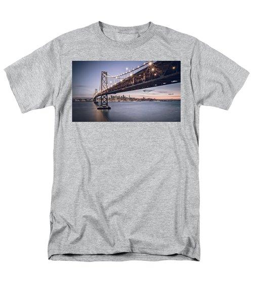Gotham City Men's T-Shirt  (Regular Fit) by Eduard Moldoveanu