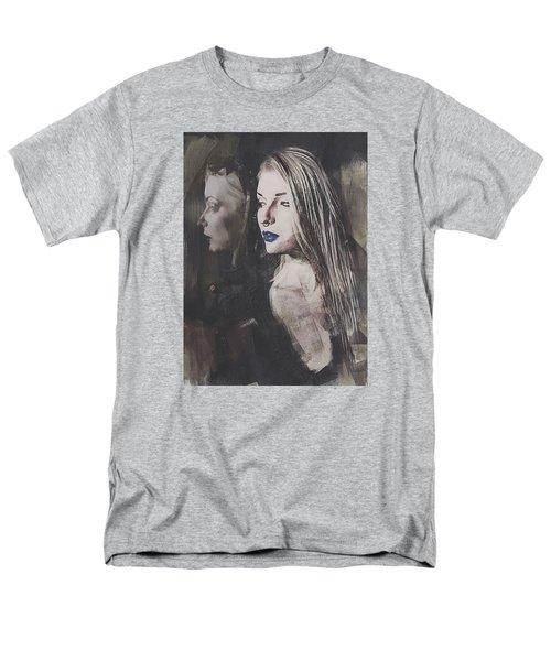 Gothic Mirror Echo Men's T-Shirt  (Regular Fit) by Galen Valle