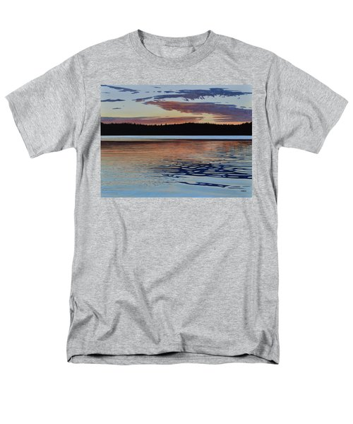 Men's T-Shirt  (Regular Fit) featuring the painting Graham Lake by Kenneth M Kirsch