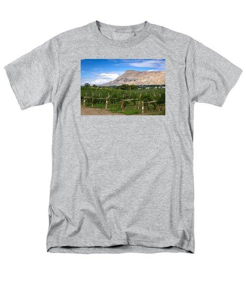 Grand Valley Vineyards Men's T-Shirt  (Regular Fit) by Teri Virbickis