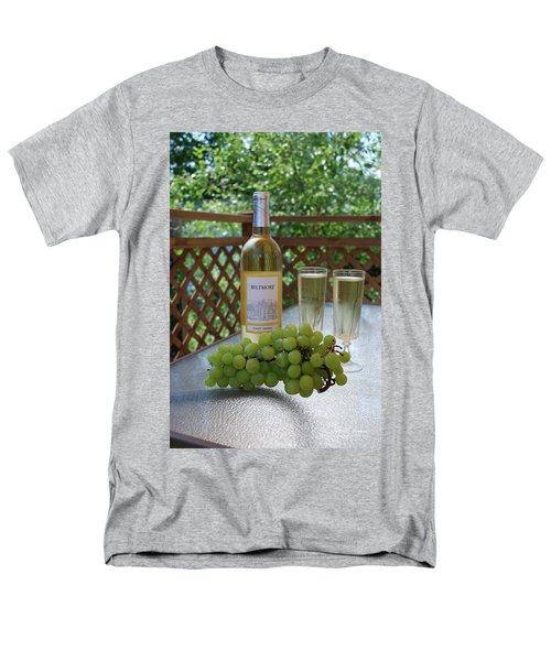 Grapes And Wine Men's T-Shirt  (Regular Fit) by Gordon Mooneyhan