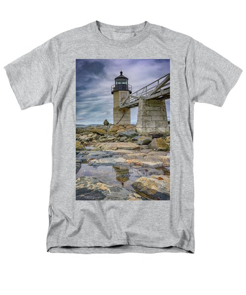 Men's T-Shirt  (Regular Fit) featuring the photograph Gray Day At Marshall Point by Rick Berk