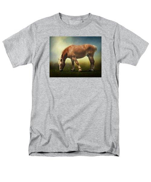 Grazing Belgian Men's T-Shirt  (Regular Fit) by David and Carol Kelly